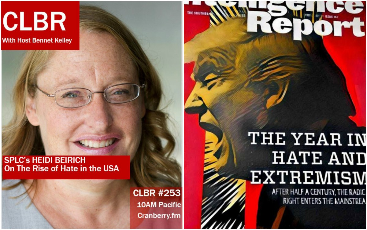 CLBR #253: Heidi Beirich, SPLC and Hate in the USA