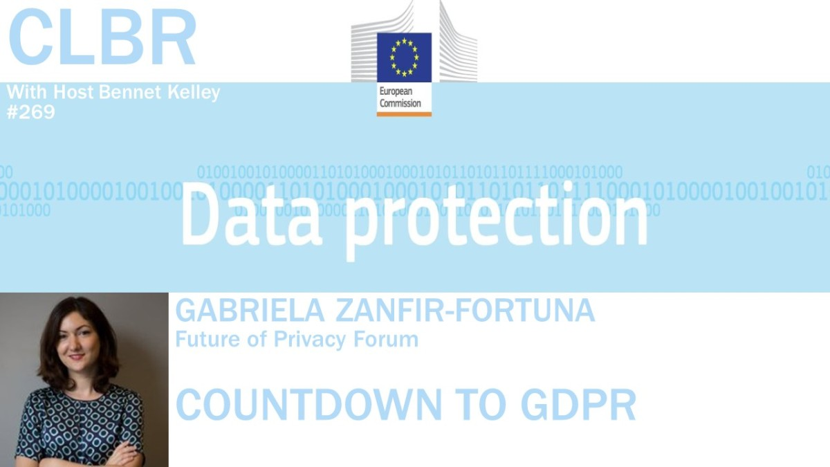 CLBR #269: Countdown to GDPR