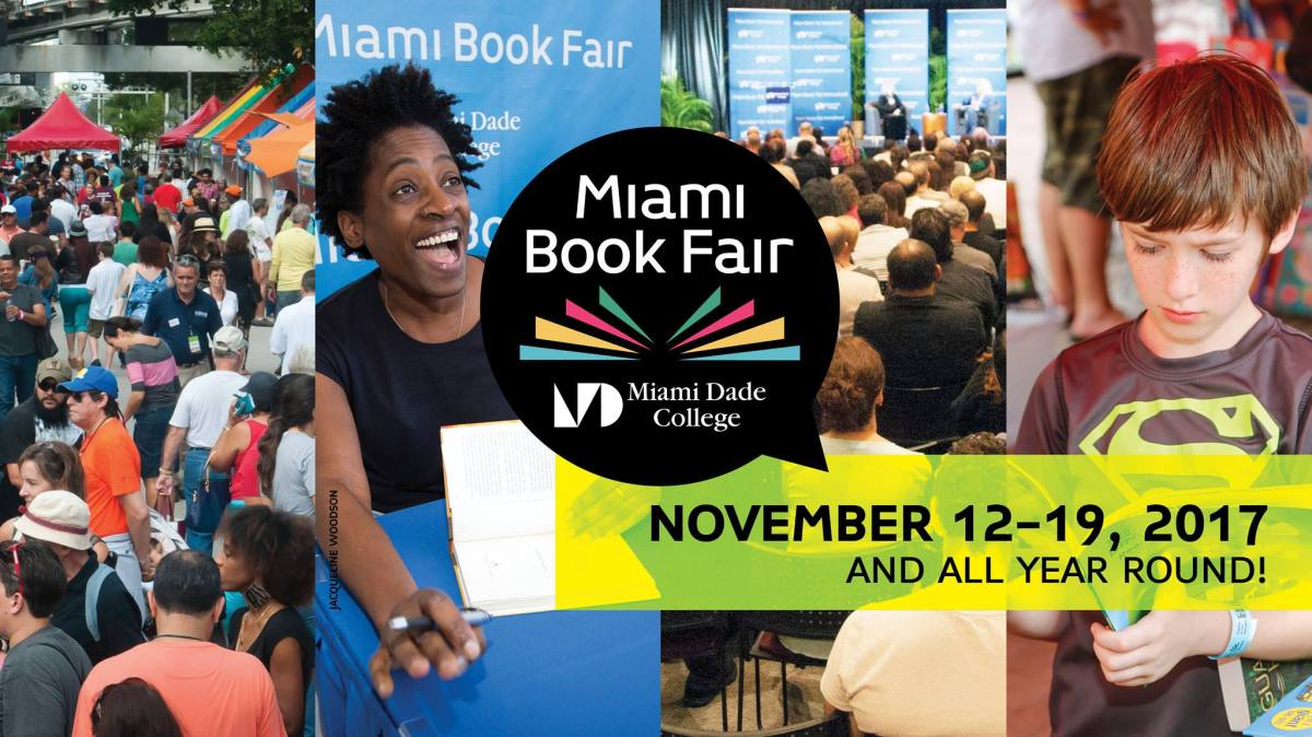 Don't Miss These Authors At the Miami Book Fair