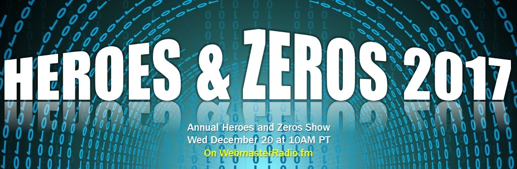 CLBR #283: Annual Year-End Heroes & Zeros Show With Brenda Christensen, Denise Howell and Dan Tynan