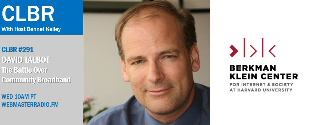 David Talbot on the Battle Over Community Broadband – POSTPONED