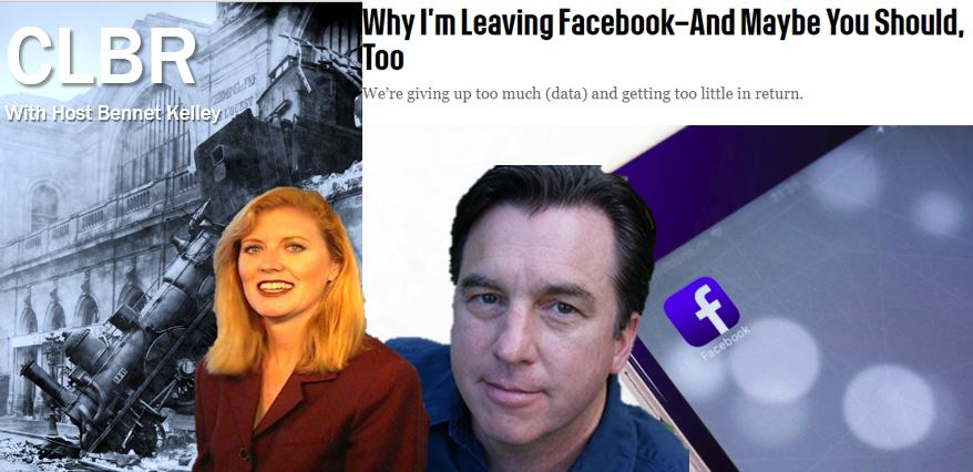 CLBR #297: The Facebook Train Wreck and Fexit with Brenda Christensen and Dan Tynan